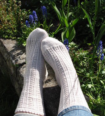 Retro-Rib socks