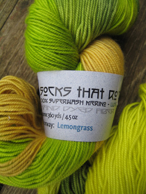STR lemongrass skein