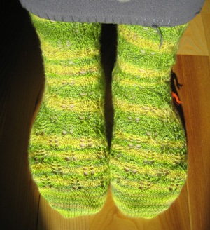 Elfine's socks