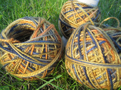 Kid Mohair/Merino Sock Yarn Indian Summer
