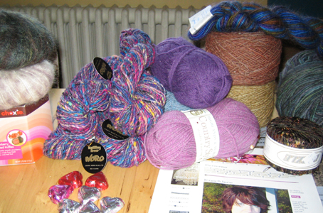 yarn gifts from Wanda