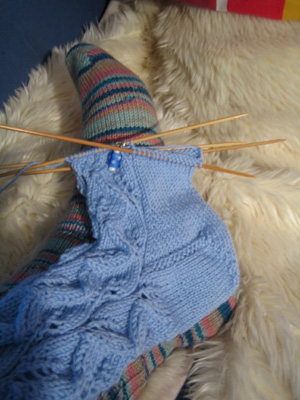Starting a sock in a day