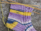 Opal Rainforest Sock - Fish