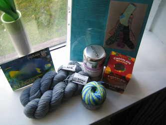 Yarn Aboard goodies